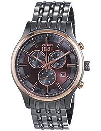 Cerruti 1881 VARESE CRA115SUR12MU - Reloj para hombres, correa de acero inoxidable chapado color gris