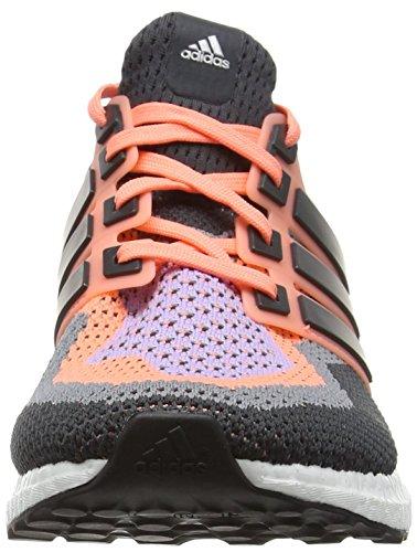 adidas Ultra Boost, Chaussures de Running Entrainement Femme Orange (Sun Glow/Dgh Solid Grey/Purple Glow)
