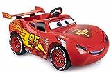 FEBER Cars Flash McQueen - Voiture électrique Disney pour garçons et filles de 3 à 6 ans, Rouge (Famosa 800012263)