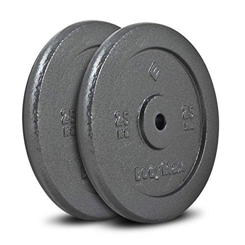 Bodymax Standard Hammertone Weight Disc Plates - 2 x 25kg