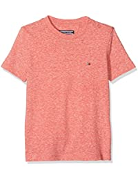 Tommy Hilfiger Boy's AME Triblend CN Knit S/S T-Shirt