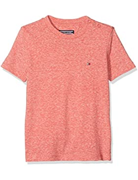 Tommy Hilfiger Ame Triblend Cn Knit S/S, Camiseta para Niños