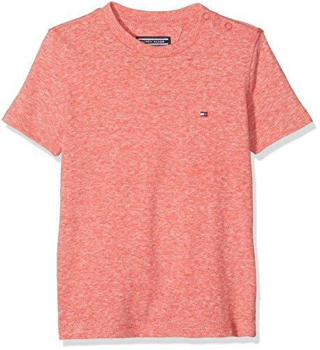 4fe979b4 Tommy Hilfiger Boy's AME Triblend Cn Knit S/s T-Shirt, Red (