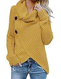 ad9397b8c076b Sweatshirt Femme Chemisier Pin Up Chic Pull Femme Pas Cher A La Mode Ample  Pull Tricoté