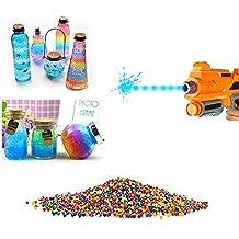 10000pcs / paquete 9-13m m Orbeez color suave de cristal de paintball agua bala arma crecen las bolas de agua