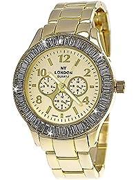 Pure time-damenuhren 84672–6Damen Armbanduhr, Armband aus Metall