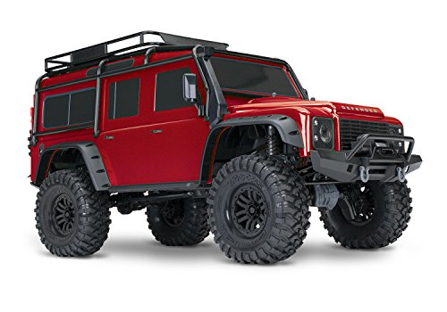 TRAXXAS 82056-4 TRX-4 LAND ROVER DEFENDER RED