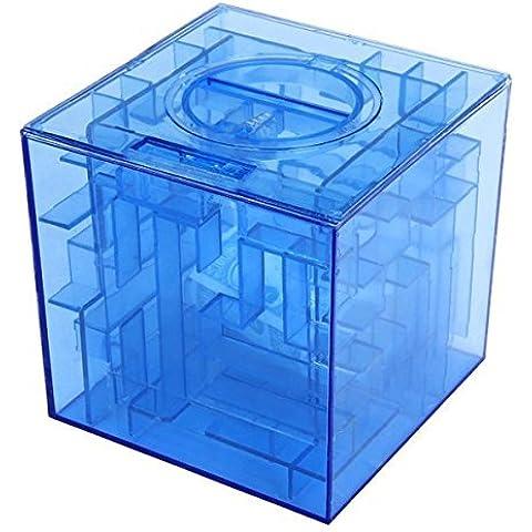 tmodd Money Maze Salvadanaio 3d puzzle box regalo Holder premio Storage