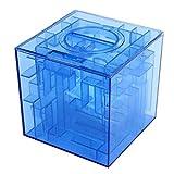 Kingstons Money Maze Tirelire 3d puzzle Boîte cadeau Prix support de stockage (Transparent)