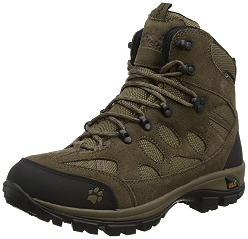 Jack Wolfskin All Terrain 7 Texapore Mid M, Chaussures de Randonnée Hautes Homme Beige (siltstone 5116)