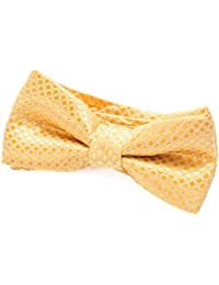 55453bd2b1d6 DonDon comfortable Boys bow tie pre-tied with adjustable length for children