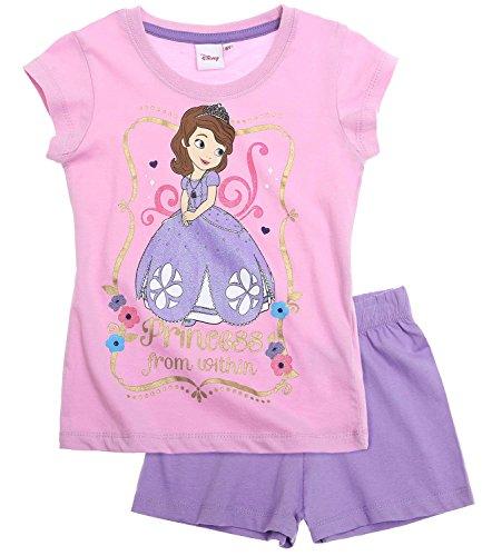 Disney Princesita Sofía Chicas Pijama mangas cortas - púrpura - 92