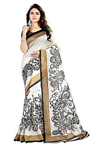 Sarees (Trendz Cotton Silk, Art Silk Saree with Blouse)