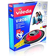 Vileda Virobi Slim - Mopa robot con sistema de autorotación y 2 programas de limpieza,