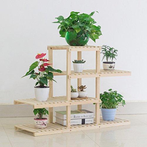 Hwf telaio vaso di fiori scaffali per fiori balcone in for Accessori per bonsai