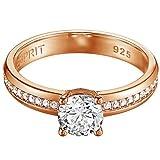 Esprit Jewels Damen-Ring 925 Sterling Silber grace glam rose Gr. 57 (18.1) ESRG91609C180