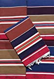 #7: Decornt Cotton Floor Satranji Mat Galicha Jaipur Rug Solapur Bhavani Multipurpose Double Sided Carpet 34 inches X 72 inches (3X6) - Multicolor