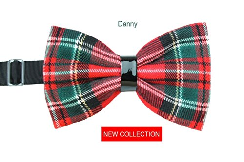 Fliege Tartan Danny Mann Handgefertigt Made in Italy- Handmade - Gift Gifts Little Man - Handcrafted Product - Original Gift Ideas - Christmas Gifts - Gifts For Him - Christmas