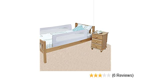 Safetots Extra Wide Double Sided Bed Rail White Amazoncouk Baby
