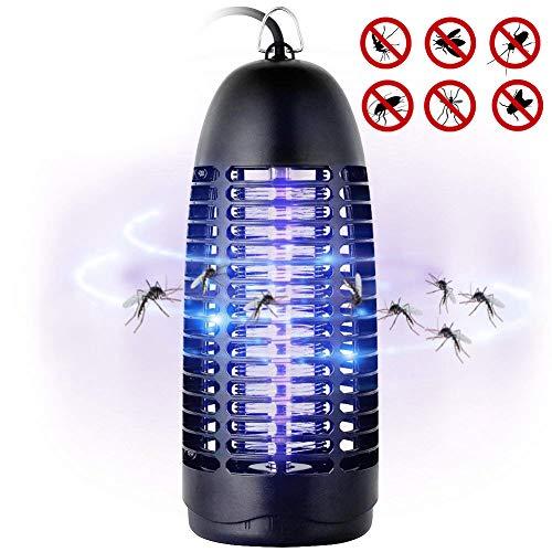 T98 Insektenvernichter, Elektrischer Insektenvernichter UV Insektenfalle Mückenlampe Fluginsektenvernichter, Insektenlampe Intelligente Mückenvernichter Innen Außeneinsatz