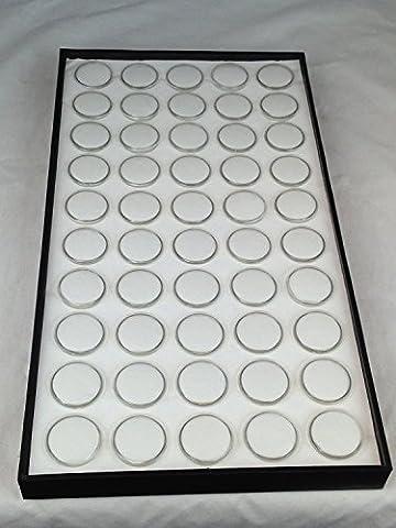 6-50 Gem Jar Tray White Insert Jewelry Display Gemstone by OneSJS