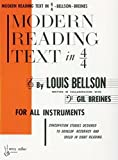 Modern Reading Text in 4/4: For All Instruments