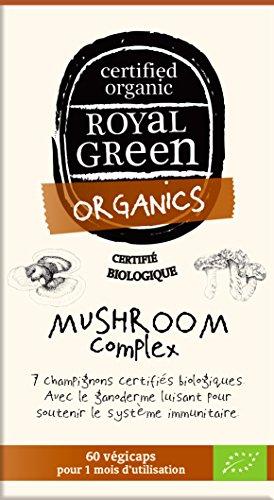 Champignons complexe certifié 100% Bio - 60 gélules végétales