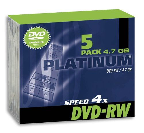 PLATINUM DVDRW 120 Minuten, 4, 7 GB, 4x, Slim Case [PC] Platinum Dvd-rw