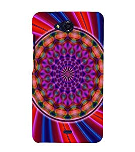 EPICCASE Neon sytle Case Mobile Back Case Cover For Micromax Canvas Play Q355 (Designer Case)