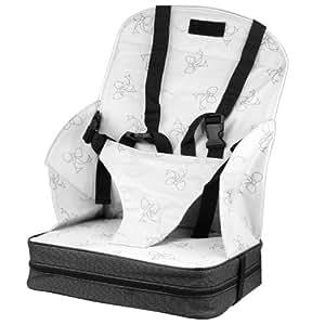 Baby World Siège auto rehausseur pour bébé Blanc uni
