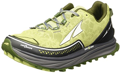 Altra TIMP Donna Zero Drop Trail Running Shoes Blu, Giallo (Lime), 37.5
