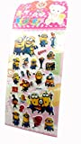 Evisha minions sticker set of (2)