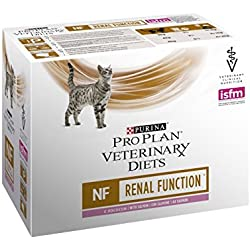Proplan Veterinary Diets Feline NF Renal Function Saumon 10x85g