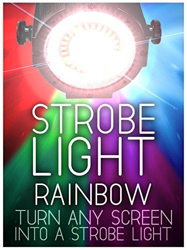 Strobe Light: Rainbow Colors - 5 Flashes Per Second - 4 Hours (Light Strobe Halloween)