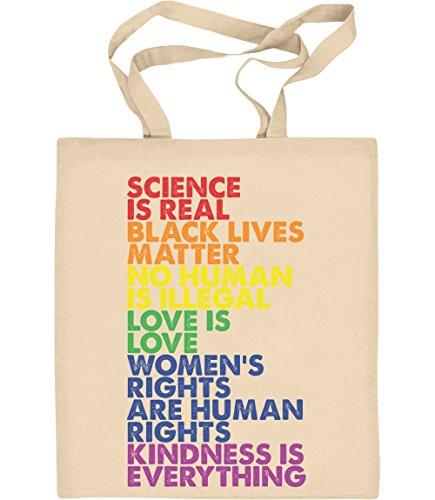 Love is Love Pride LGBT Kleidung - Lesbian & Gay Jutebeutel Baumwolltasche One Size Natur (Black Flag Alle Kostüme)