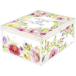 LAVATELLI Sweet Home Caja En Cartón, 3, 39 X 50 X 24 cm