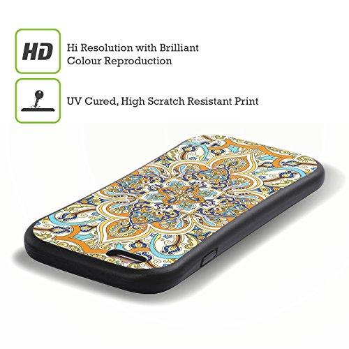 Ufficiale Giulio Rossi Henne Collezione Deco Case Ibrida per Apple iPhone 5 / 5s / SE Persiano