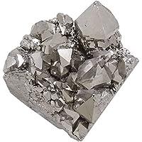 HARMONIZE Natural Black Pyrit Cluster Reiki Kristall Specimen Energie Spirituelle Geschenk preisvergleich bei billige-tabletten.eu