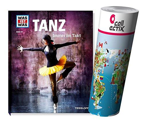 WAS IST WAS Sachbuchreihe 137: Tanz - Immer im Takt + Kinder Weltkarte Poster by Collectix