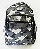 Boys Mens Hi-Tec Camouflage School Backpack Rucksack (Army Green/Army Grey/Desert) (Army Grey)