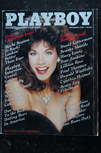 PLAYBOY US 1985 12 Barbi BENTON Lillian ROSS Barbara Klein Carol Ficatier Bill Cosby