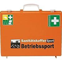 SÖHNGEN® Erste-Hilfe-Koffer Betriebssport, ASR A4.3 (Din 13157),orange, Wandh, mit PRÜFPLAKETTE preisvergleich bei billige-tabletten.eu