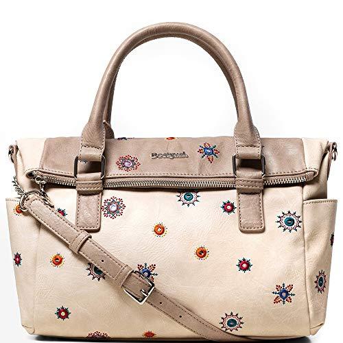 Desigual Julietta LOVERTY Handtaschen Damen Beige - Einheitsgrösse - Handtasche