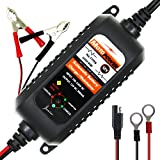 MOTOPOWER 12V 800mA chargeur / mainteneur automatique de batterie pour l'automobile