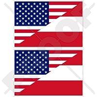 FAHNENKETTE USA VEREINIGTE STAATEN 4 meter mit 20 flaggen 15x10cm VEREINIGTEN S
