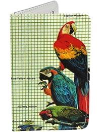 Porte-cartes Oiseaux tropicaux, ara-Kingfisher pour Cartes de Visite et Cartes Bancaires