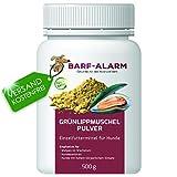 100% Grünlippmuschelpulver für Hunde 500g - Natürliches Grünlippmuschel-Extrakt Perna Canaliculus – Grünlippmuschel Hund Barf Pulver
