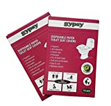 #9: Gypsy Hygienic Disposable Paper Toilet Seat Covers (Set Of 2 Packs, Total 20 Sheets )