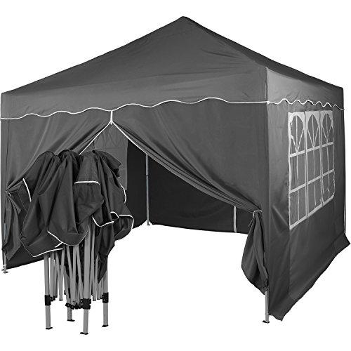 INSTENT® Basic 3x3m Faltpavillon, Pavillon, WASSERDICHT +Auswahl: Seitenteile
