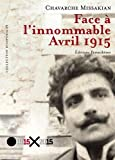 Face à l'innommable : avril 1915